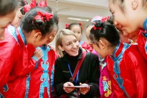 Visiting a School in Fuzhou